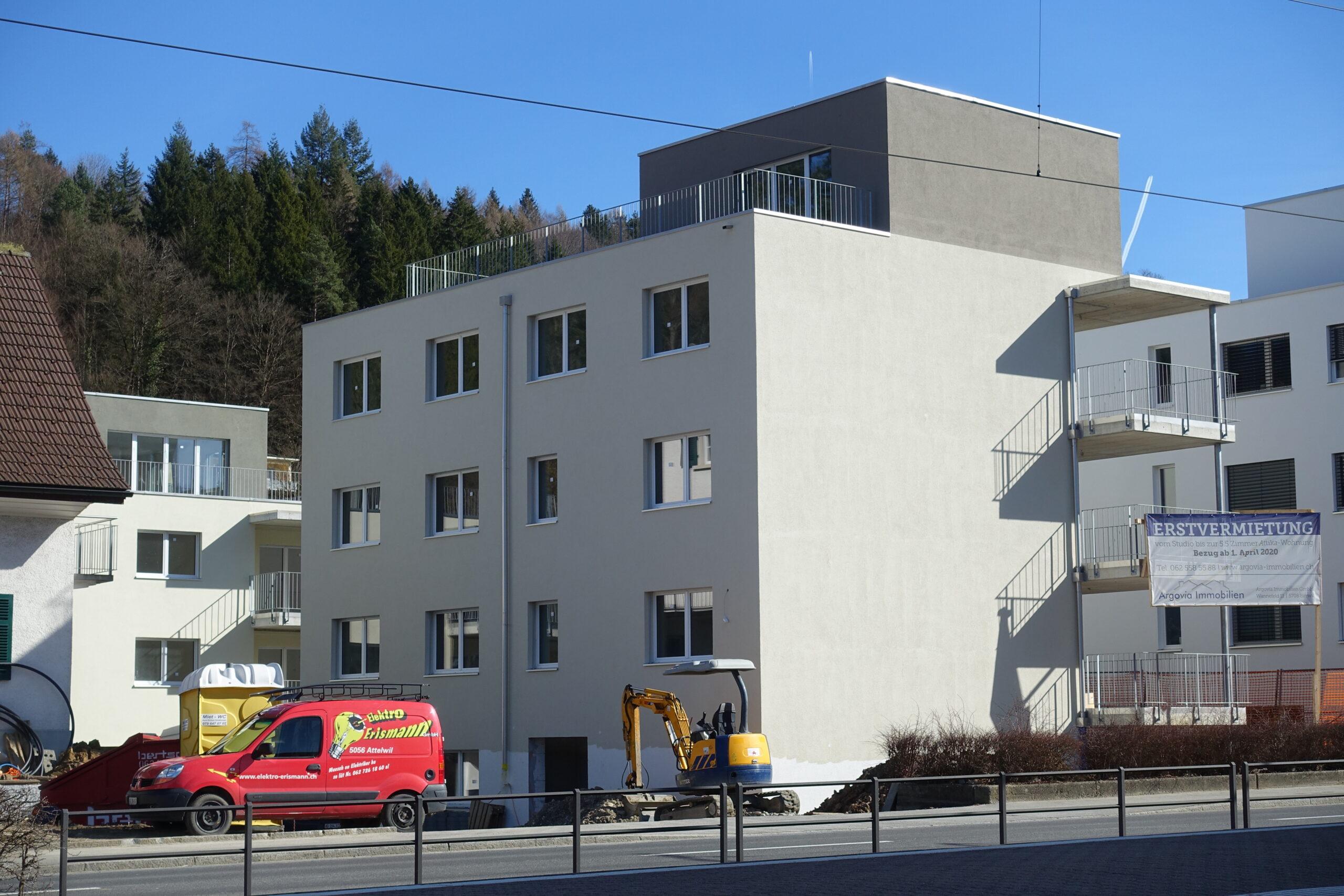 Erstvermietung Unterkulm, attraktive 4.5 Zimmer Wohnung