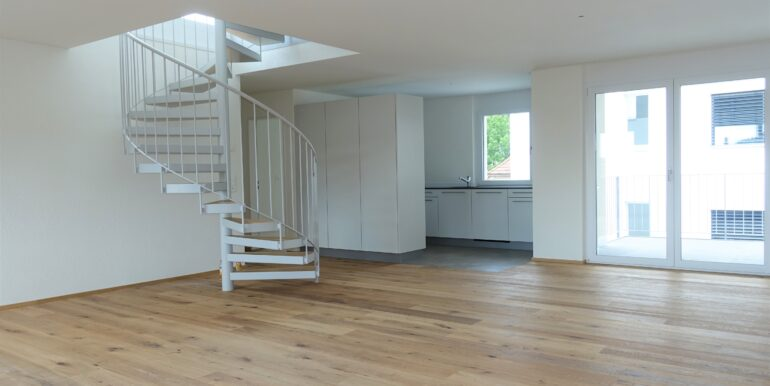 Küche Balkon Treppe