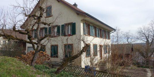 Birrwil, 7.5 Zimmer Einfamilienhaus