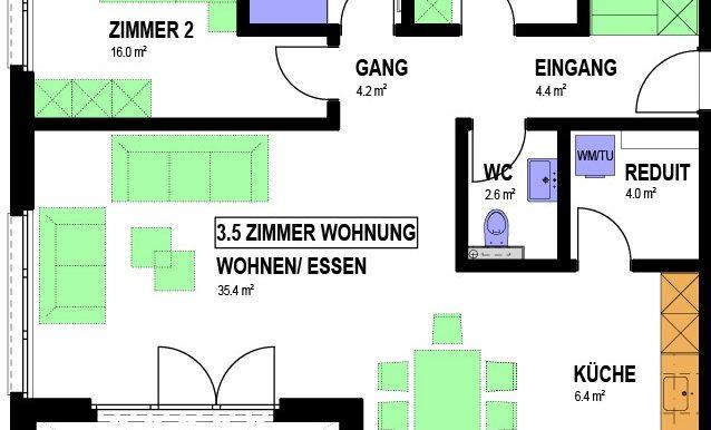 3.5 ZIMMER WHG GEBÄUDE 1 (002)