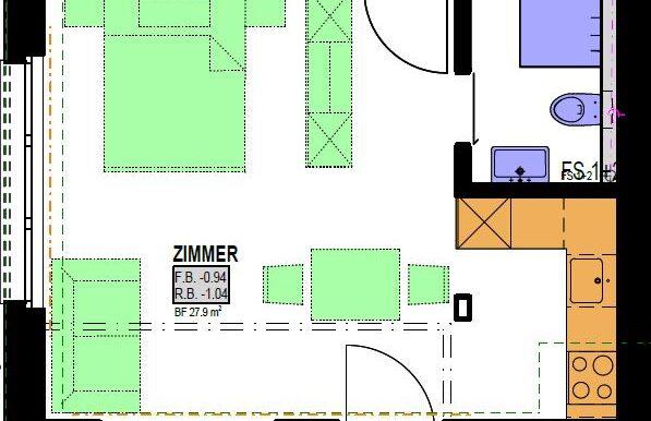 Grundriss Haus 1 Studio